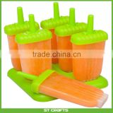 Popsicle Molds Ice Pop Maker High Quality 6 Pieces BPA Free Clearance Sale
