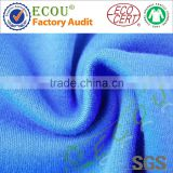 Solid interlock cotton knit fabric
