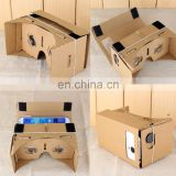 Google 3D Cardboard VR Virtual Reality Glasses Ultra Clear 3D Viewing Glasses VR028