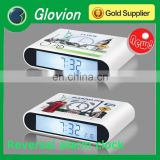 Novelty Reversal desktop clock table clock led clock