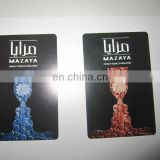 Cigar Plastic promotional playing cards