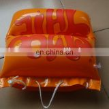 PVC inflatable beach pillow bag