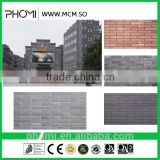 Building decorative soundproof insulated flexible light weight thin suitable for high-rises 240*60 outdoor wall cladding tile