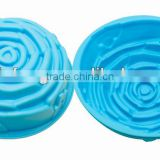 Rose shape Silicone cake mould cake baking tray/ Bread mould