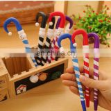 Creative Christmas snowman umbrella shape ballpoint pen stationery canetas material school supplies