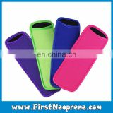 High Quality Customized Production Neoprene Colorful Popsicle Holder