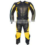 HMB-2111A MOTORCYCLE BIKER LEATHER JACKETS SUITS RIDING WEARS