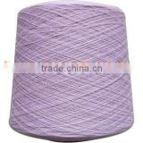Nm2/48s Dyed 100% Cashmere Yarn From Inner Mongolia