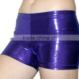 New Metallic Purple dance Shorts