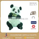10.5'' Inch Resin Home Decoration Panda Animal Statue
