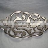 Aluminum Snack Platters,Platters for Snacks,Designer Aluminum Platters for Fruits,Aluminum Platters,Cheap Platters