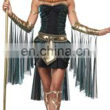 Egyptian Goddess fancy dress Costume Plus Size Cleopatra Halloween Costume AGC221