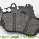 D1007 Brake pad set for CAYENNE,TOUAREG auto car.semi metal