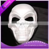 White Skull scary plastic cosplay mask