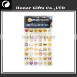 Most Popular Hot Sale Promotional Wholesale Emoji Stickers