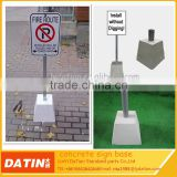 High quality portable concrete sign base