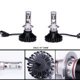 3color DIY popular auto head lights auto headlamp 60W IP65 6000LM G10-X021 H7