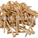 54mm 2 1/4 inch Eco Friendly natural colour bamboo golf tees