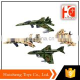 most popular products metal die cast fighter set pull back toy for wholesale