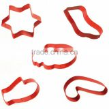 New design promotion gift cookie tools stainless steel cookie cutters