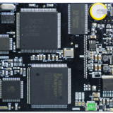 SMT circuit board assembly for automotive electronic PCB