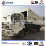 dongfeng price of road sweeper truck 8 m3