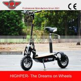 "1300W 48V Brushless 2 Wheel Electric Scooter with 12"" Wheel HP107E-C"