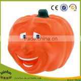custom make plastic toy pumpkin stress squeeze toys, custom pumpkin plastic stress squeeze toys
