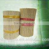 8inch china natural bamboo sticks for incense
