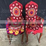 Afghan Embroidery wooden Dining Chairs (CH-001)