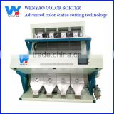 RGB camera ccd color sorter machine for European wheat selecting