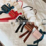 New Magnetic Buckle Small Square Bag Bow Knot Single Shoulder Bag
