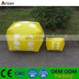 Non-phthalate PVC inflatable dice inflatable dice game inflatable dice furniture