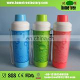 400ml sport plastic water bottle with spout cap