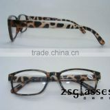 Fashion tortoise spectacle frame/eyeglass frame/optical design reading glasses frame OEM