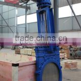 DIN Electric <b>Operated</b> Knife Gate <b>Valve</b>