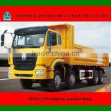 HOHAN 8X4 dump truck for sale