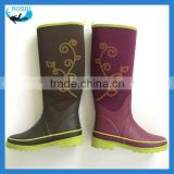 2014 hottest Fashion ladies cheap rain boots