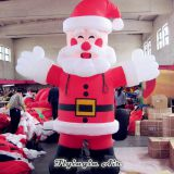 3m Height Customized Inflatable Christmas Santa for Outdoor and Indoor Decoration