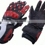 Leather Motorbike Gloves,Sports Racing Gloves,Genuine Leather Gloves