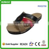 china best price cork insole men sexy summer slippers