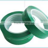 High Temp Self Adhesive PET Insulation Tape With Silicone Adhesive For 200 C Heat Protection and Powder Spray Paint Masking