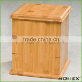 Bamboo pet urn cremation urn Homex BSCI/Factory