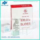 25.4*76.2mm Microscope Slides CAT. NO. 7101 biology slides online