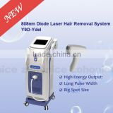 Y9D-Ydel Hot sale! Most advanced permanent laser hair removal machine beauty salon use vertical laser diode 808 nm