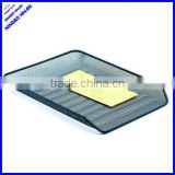 2013 best selling 3 layer a4 office metal mesh letter tray desk tray
