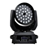 LED  Zoom&Wash Effect Disco Lighting 36pcs*10W Moving Head Stage Light