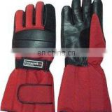 HMB-2021, COWHIDE LEATHER CORDURA GLOVES BIKER RACING STYLE