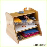 4 Tier Office Bamboo Desk Organizer Homex-BSCI Factory