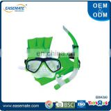 Wholesale kids sport toys swimming glasses and snorkel set